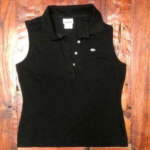 Lacoste Collar Button Tank Top